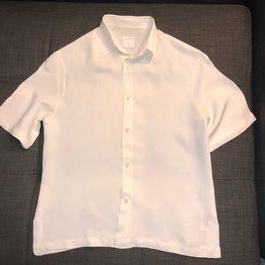 Sandro Paris Men's Viscose Shirt Size Small